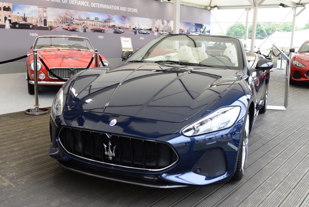 Maserati GranCabrio MY 2018: debutto mondiale al Goodwood Festival of Speed