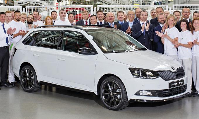 Škoda Fabia: prodotti 4 milioni di esemplari dal 1999
