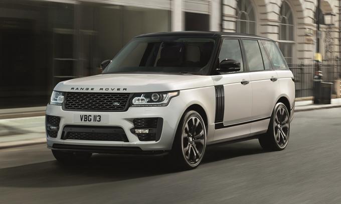 Land Rover Range Rover: in arrivo il nuovo Pack Design dalla divisione SVO