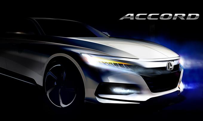 Honda Accord: la decima generazione debutterà il 14 luglio a Detroit [TEASER]