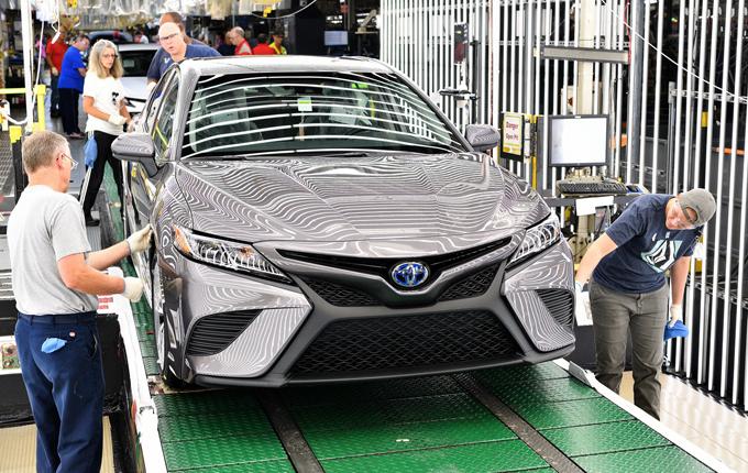 Toyota Camry MY 2018: iniziata la produzione dell'ottava generazione