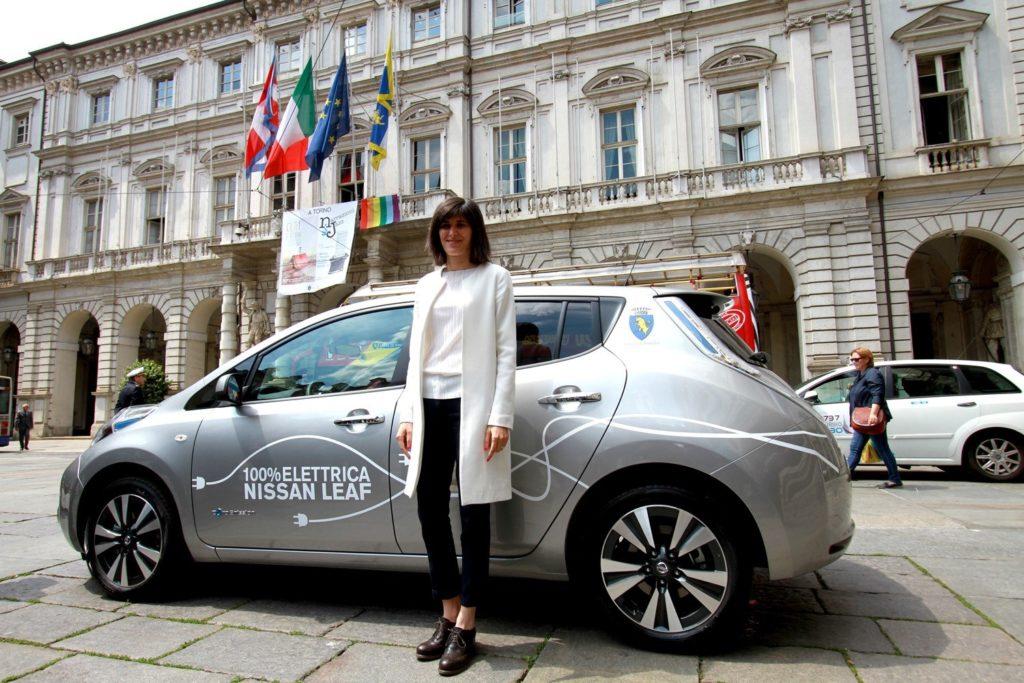Una Nissan LEAF per il sindaco di Torino