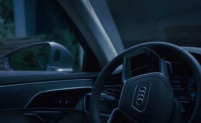 Nuova Audi A8: VIDEO TEASER sul sistema di parcheggio automatico