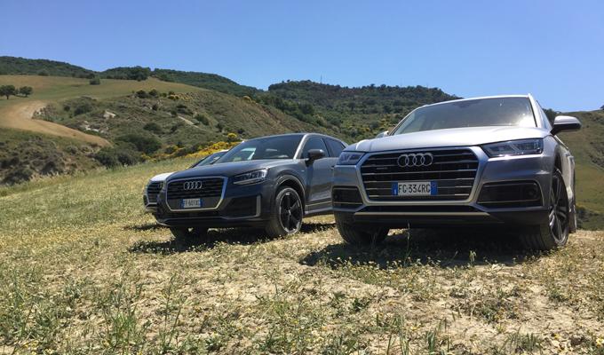 Audi Q Experience: tra il calore dell'asfalto e il profumo campestre del Sud [TEST DRIVE]