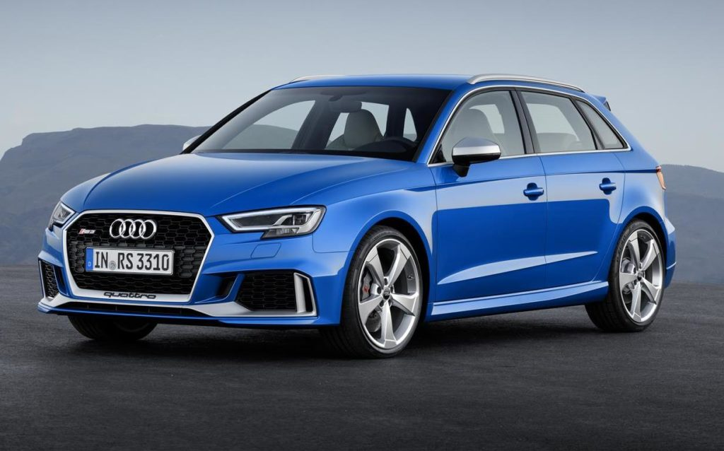 Audi RS 3 Sportback e Sedan e Audi TT RS Coupé sbarcano sul mercato italiano