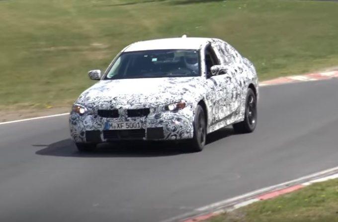 BMW Serie 3, la nuova generazione filmata al Nürburgring [VIDEO SPIA]