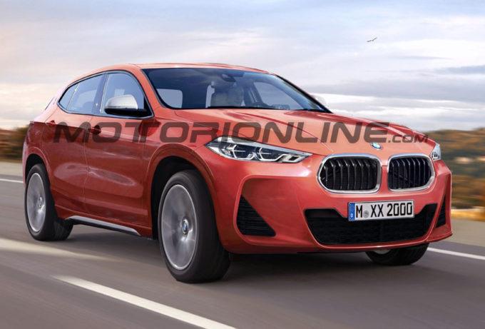 BMW X2, ipotesi estetica del nuovo crossover dell'Elica [RENDERING]