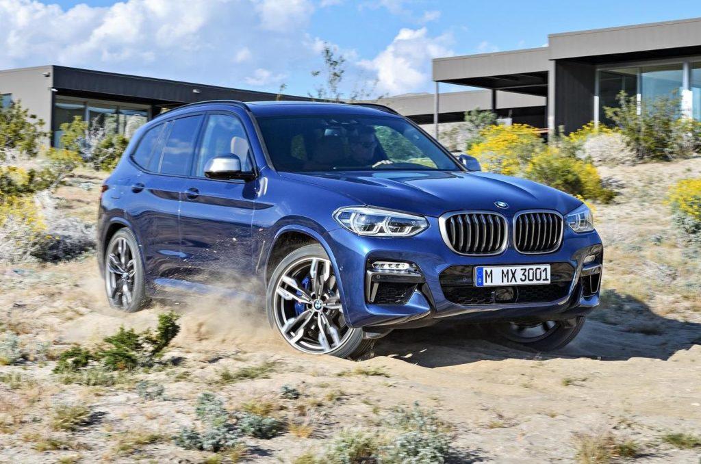 BMW X3 MY 2018: svelata la nuova generazione del SUV bavarese [FOTO]