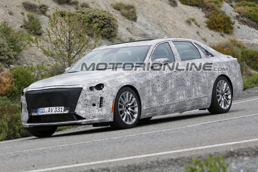 Cadillac CT6: restyling in vista per la berlina americana [FOTO SPIA]