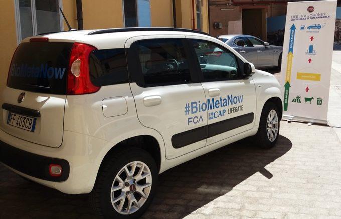 FCA porta il suo biometano al G7 Trasporti di Cagliari