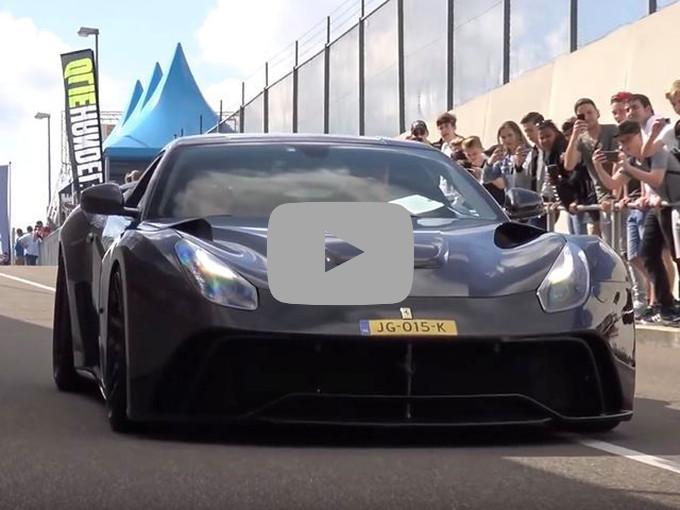 Novitec Ferrari F12 N-Largo: il possente ululato del V12 di Maranello [VIDEO]