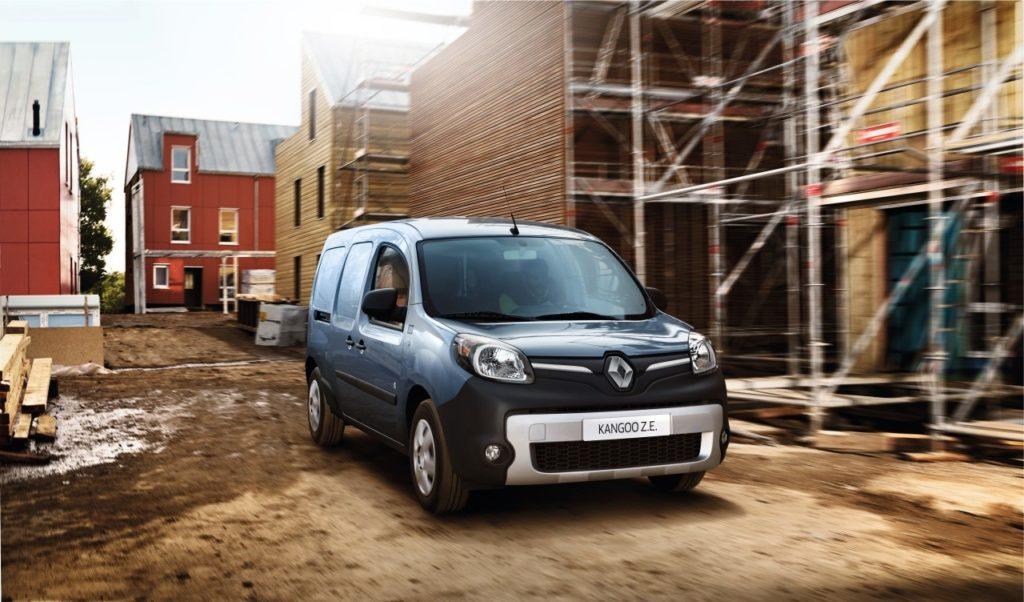 Il nuovo Renault Kangoo Z.E. è disponibile da oggi in Italia