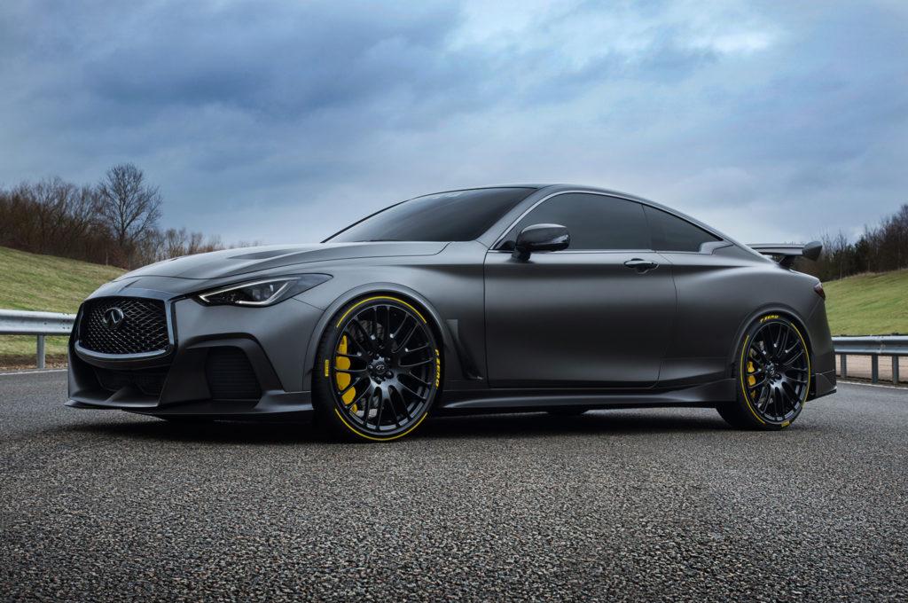 Pirelli e Infiniti: nuova partnership per la Black S