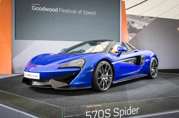 McLaren 570S Spider - Goodwood