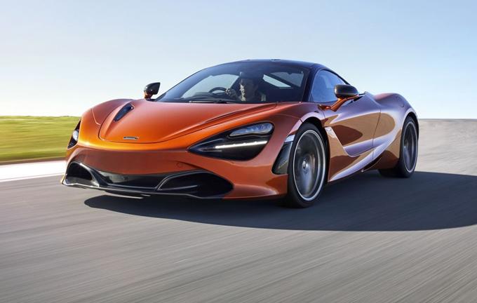McLaren 720S: la nuova Super Series debutterà al Salone dell'Auto Torino Parco Valentino