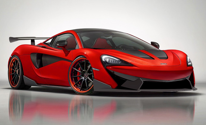 McLaren 570S: nuovo aerokit by 1016 Industries
