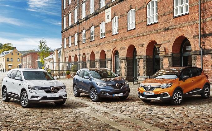 Renault al Salone dell'Auto di Torino tra gamma crossover e veicoli elettrici