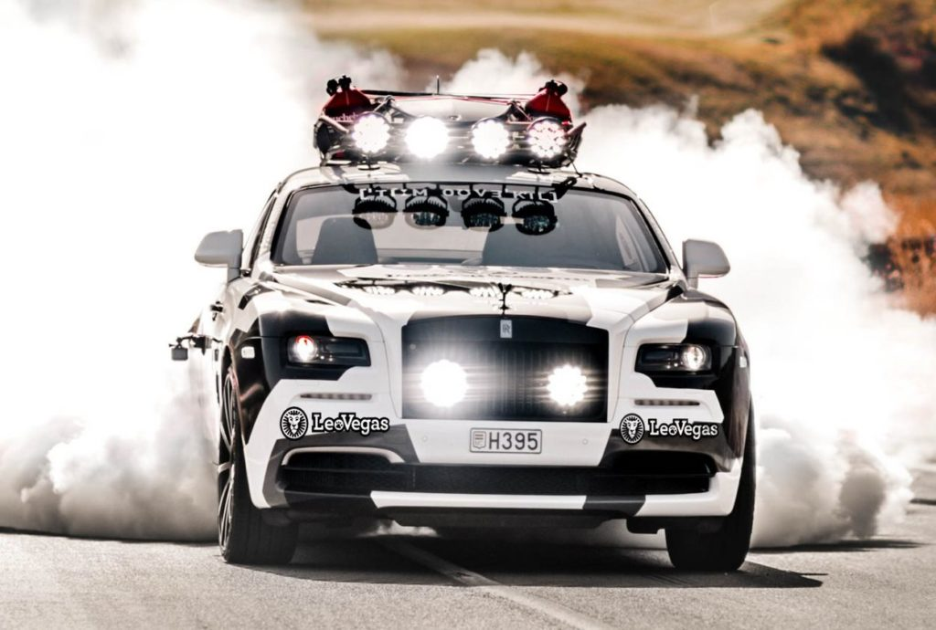 Rolls-Royce Wraith con tuning da 810 CV: è la nuova auto dello sciatore Jon Olsson [FOTO e VIDEO]