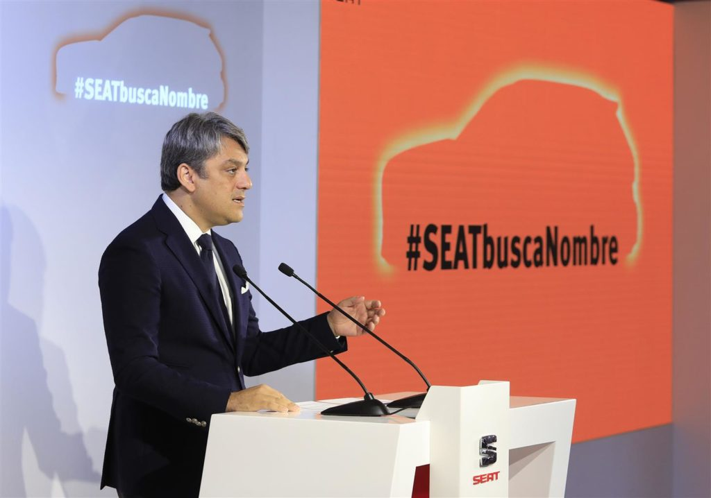 SEAT, sono oltre 10.000 i nomi proposti per il terzo SUV del marchio spagnolo