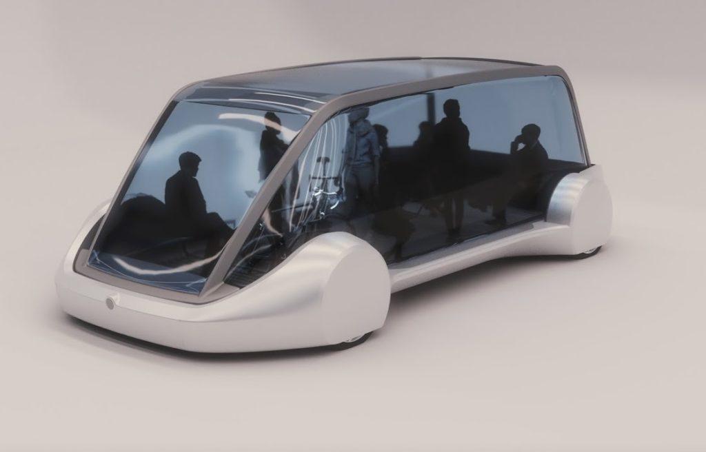 Elon Musk svela i futuristici veicoli per il trasporto passeggeri [FOTO]