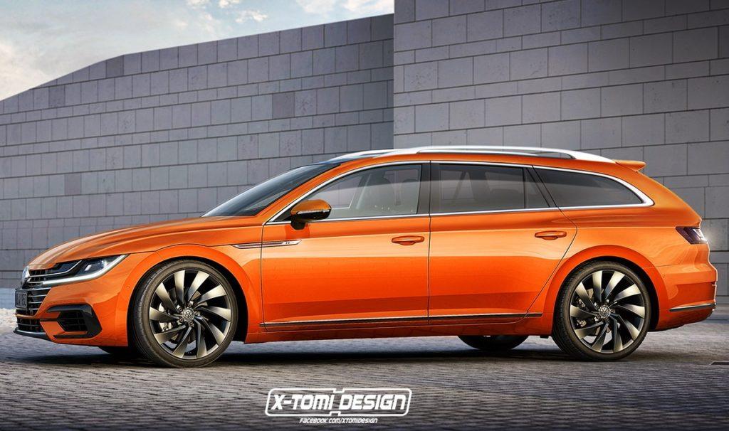 Volkswagen arteon ecco come potrebbe essere la versione for Aggiungendo un piano di sopra ad una casa di ranch
