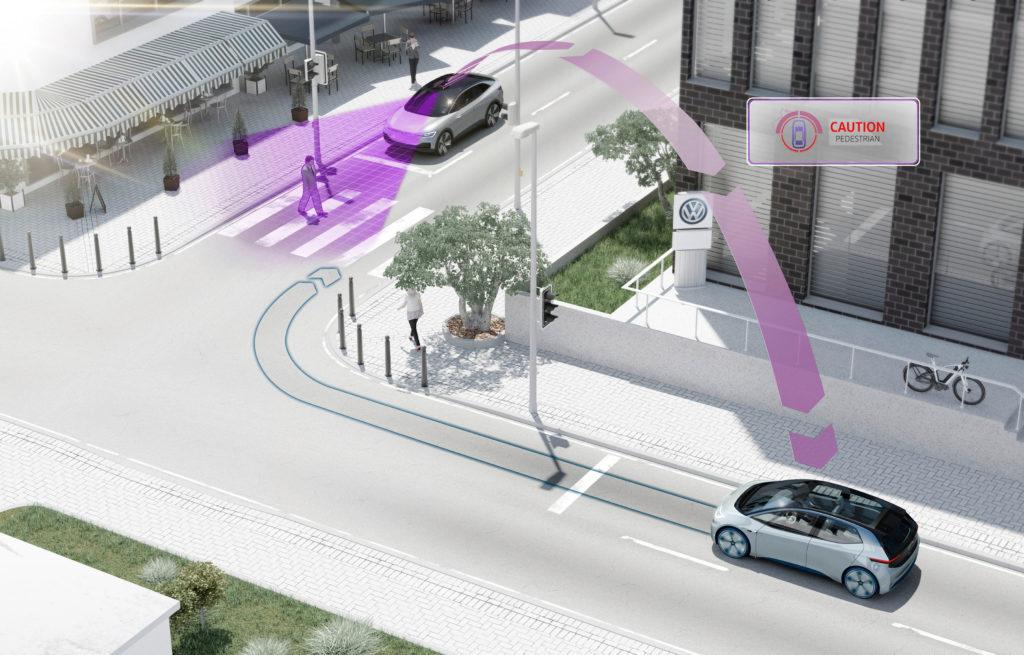 Volkswagen: dal 2019 veicoli connessi tra loro per una maggiore sicurezza stradale