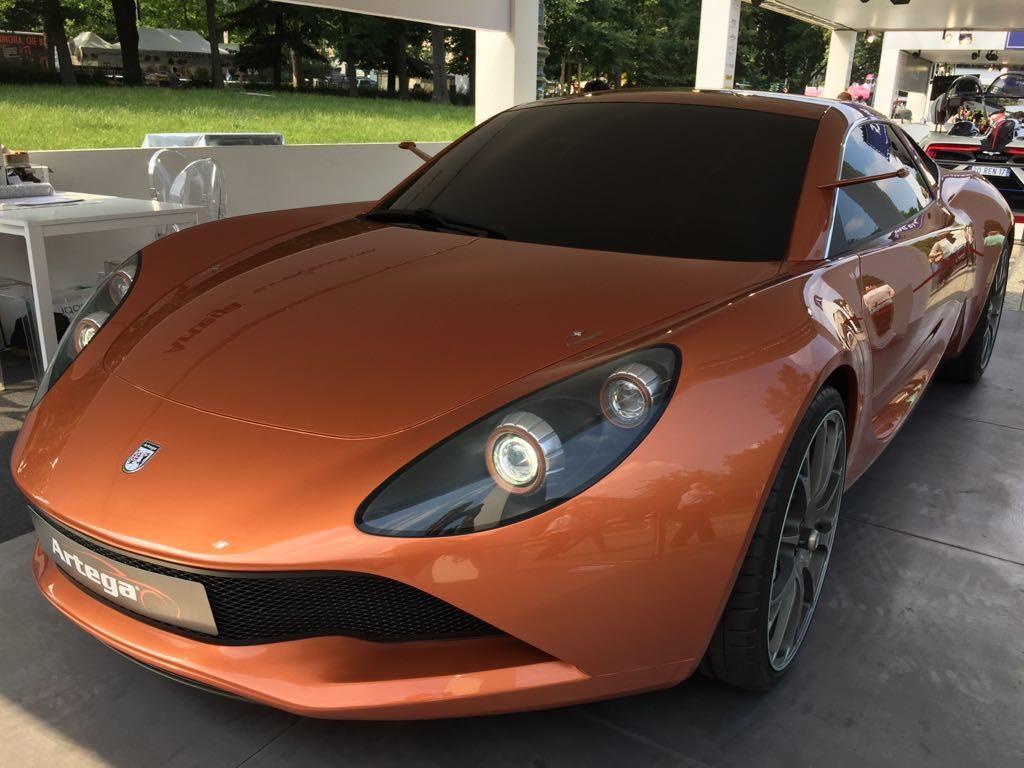 Artega Scalo Superelettra: l'inedita supercar in anteprima nazionale al Parco Valentino 2017 [FOTO]