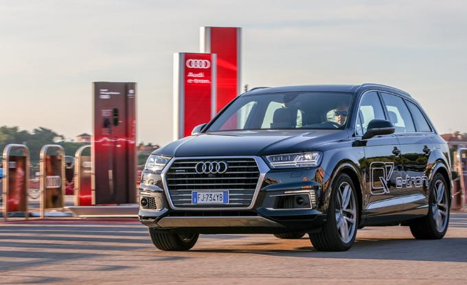 Audi: crescono i punti di ricarica elettrica in Costa Smeralda