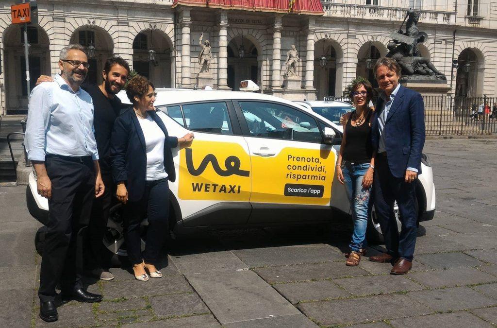 Wetaxi: a Torino nasce l'app per il taxi collettivo