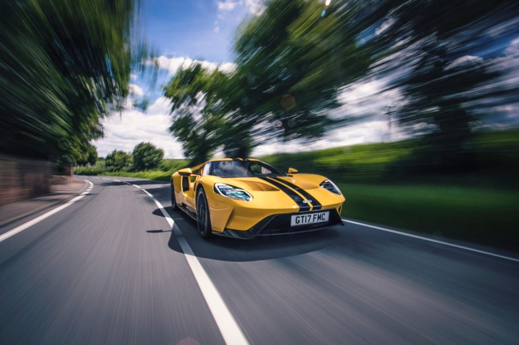 Ford GT comfort