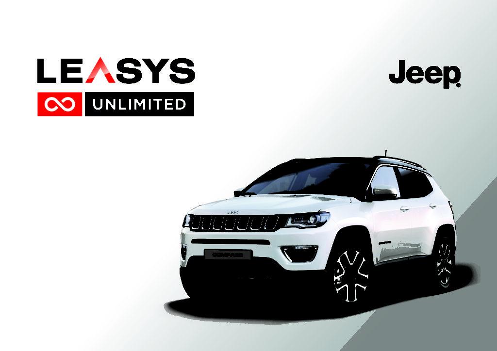 Nuova Jeep Compass: noleggio a lungo termine Leasys Unlimited per tutti