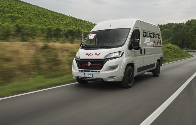 Fiat Ducato: ora anche in versione 4×4