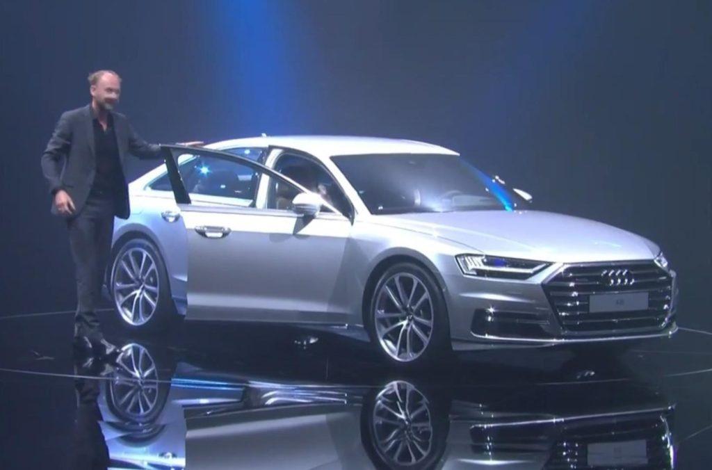 Nuova Audi A8: auto pensata per la guida autonoma