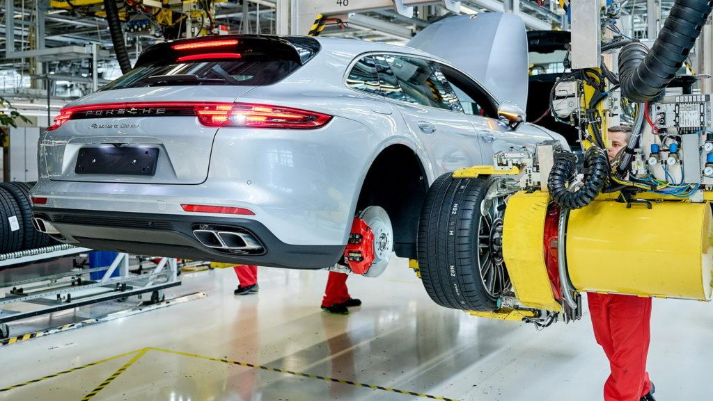 Porsche Panamera Sport Turismo: iniziata la produzione