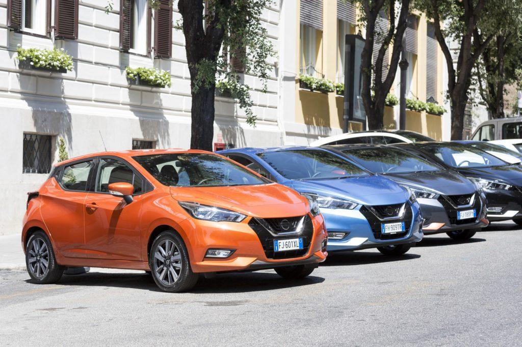 Nuova Nissan Micra: inedito tour d'Italia in 10 tappe