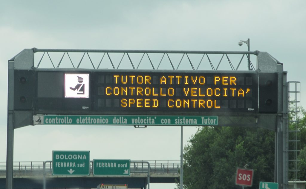 Allo studio un nuovo decreto legge per eliminare le segnalazioni di Autovelox e Tutor sulle strade