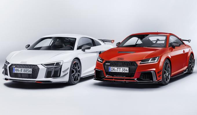 Audi R8 e TT RS: in arrivo il pacchetto Performance Parts [FOTO]