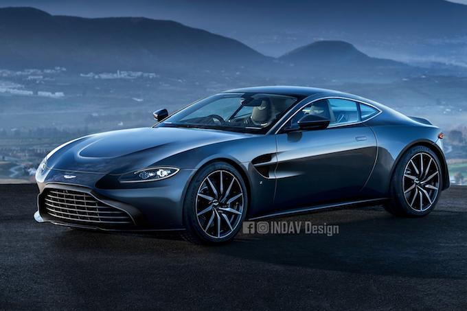 Aston Martin V8 Vantage, sarà così il modello 2019? [RENDER]