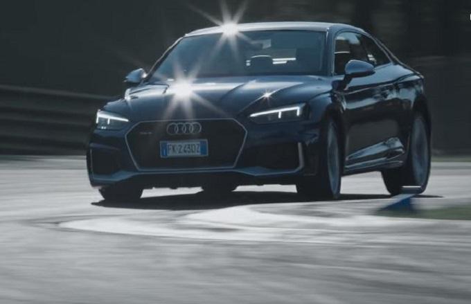Nuova Audi RS5 Coupé protagonista sulla pista di Imola [VIDEO]