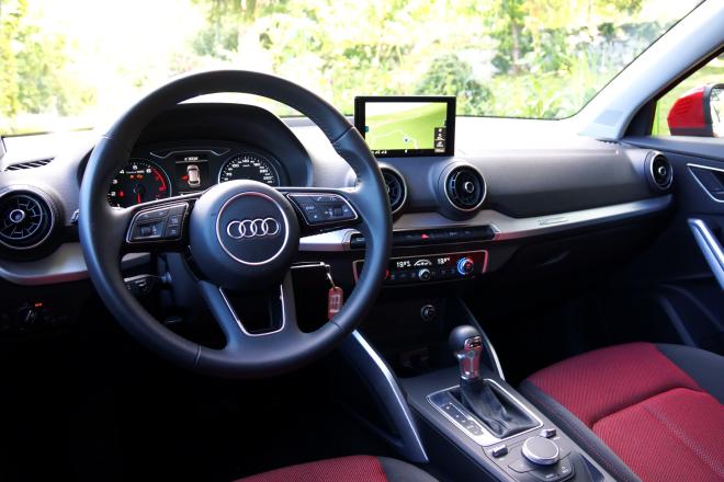 Audi q2 1 4 tfsi s tronic un suv forse di certo non for Interno q2