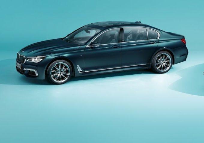 BMW Serie 7 40 Years Edition, edizione celebrativa per i 40 anni del modello [FOTO]