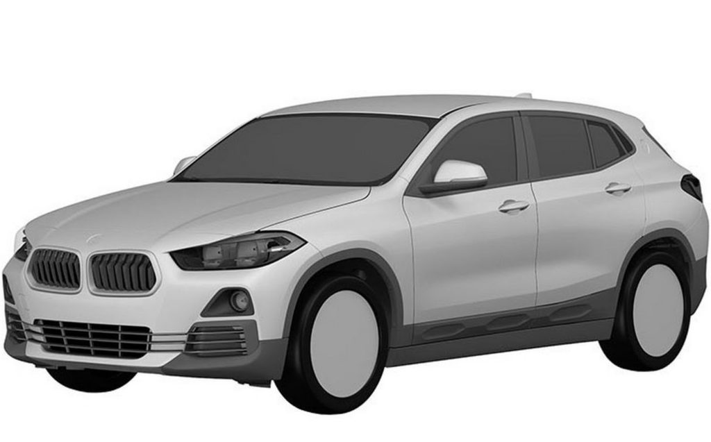 BMW X2, i disegni dei brevetti anticipano il look del nuovo crossover [FOTO]