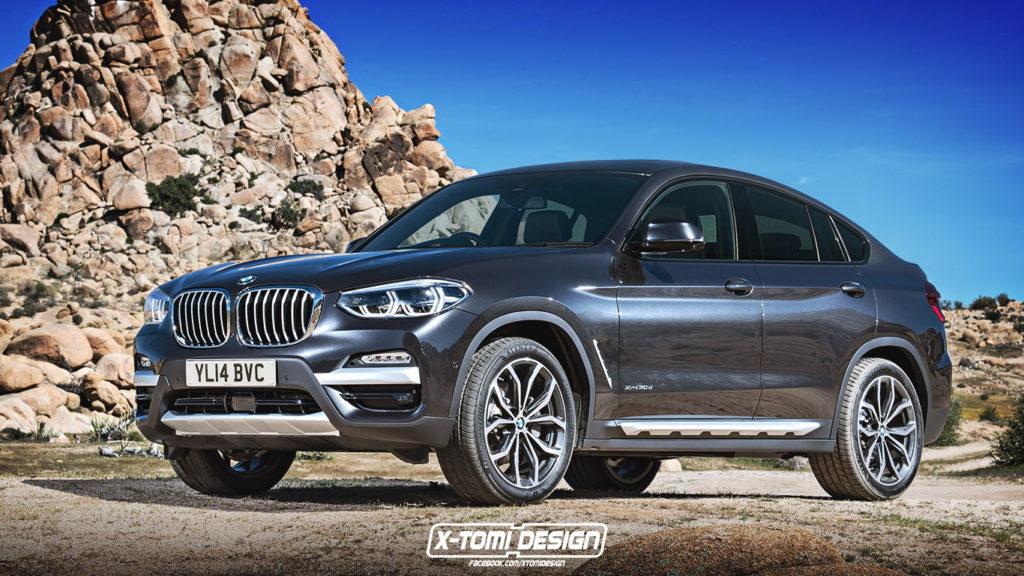 BMW X4: la nuova generazione potrebbe essere così [RENDERING]