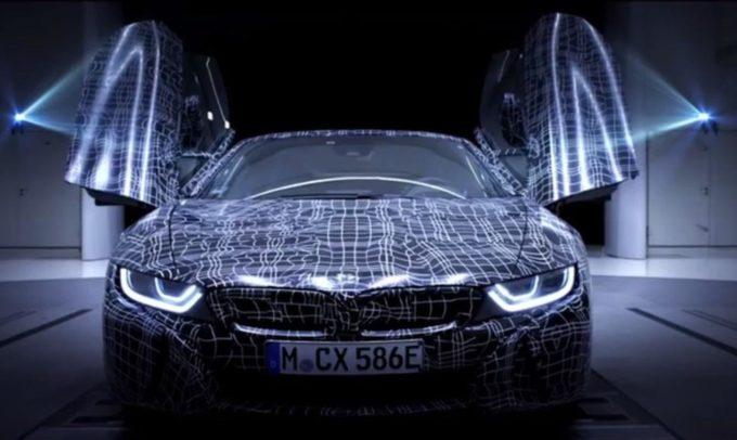 BMW i8 Roadster, rilasciato il primo VIDEO TEASER