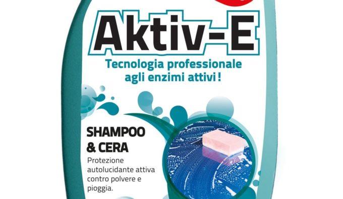 Prodotti per l'auto: Fra-Ber lancia i nuovi Aktiv-E shampoo&cera e toglimoscerini