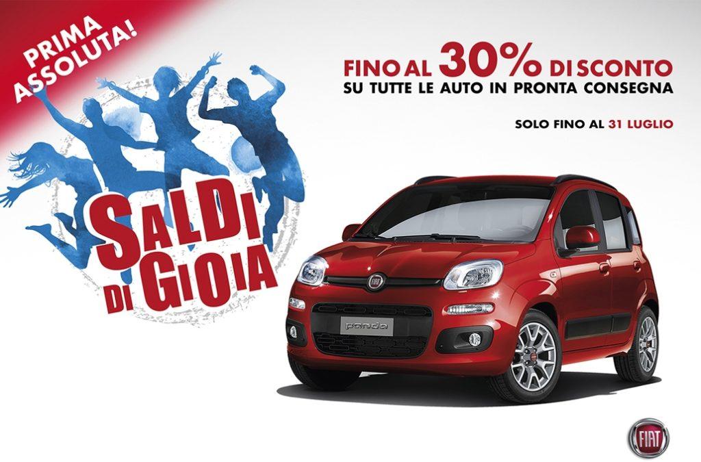 Fiat e Lancia danno il via ai saldi di luglio