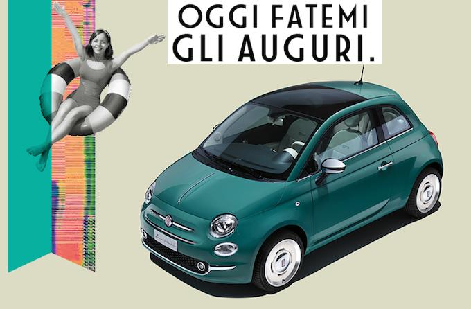 Fiat 500: 60 anni in Famiglia, tanti auguri!