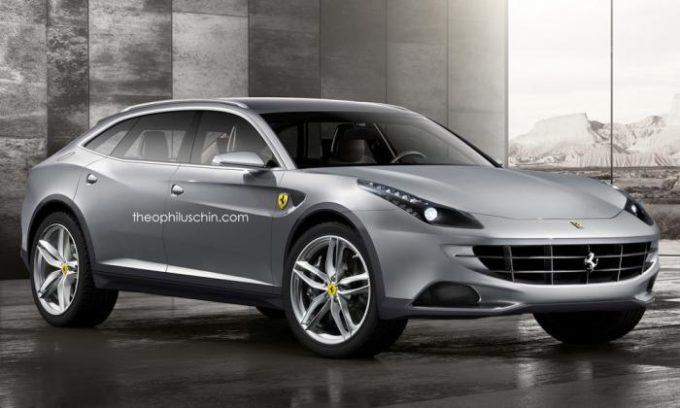 Ferrari F16X: il primo crossover arriverà nel 2021? [RENDERING]