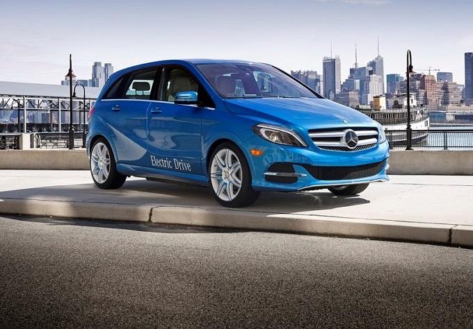 Mercedes: stop alla produzione della Classe B Electric Drive