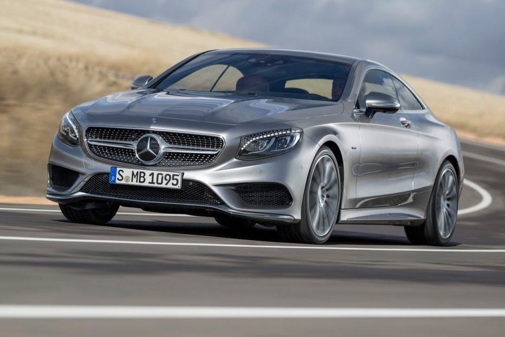 Mercedes Classe S, le nuove versioni coupè e cabrio debutteranno al Salone di Francoforte 2017